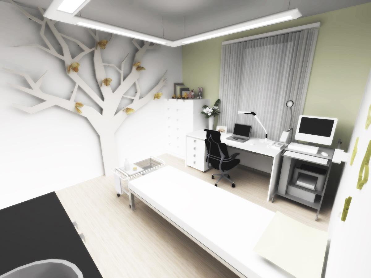 navrh design interieru zdravotnickeho zarizeni neurologie praha navrhy studie designy interier interiery lekar lekarsky doktor doktorsky neurologicka neurologicke brno vysetrovny pracoviste ordinace olomouc architekt designer jihlava vizualizace ostrava vysetrovna