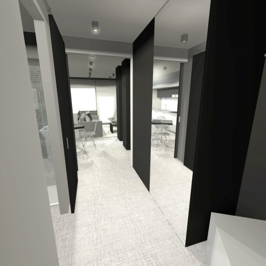 design navrh interieru zadveri chodby trebic jihlava praha brno ostrava architekti designer byt bytu bytovy interiery interier architekt vysocina designy navrhy studie vizualizace chodba