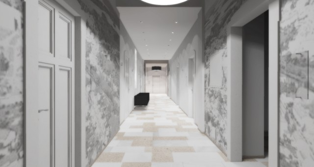 Rekonstrukce chodby, Město Třešť