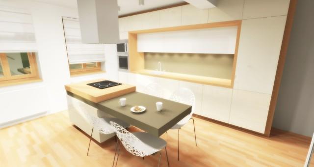 Návrh kuchyně, Třešť