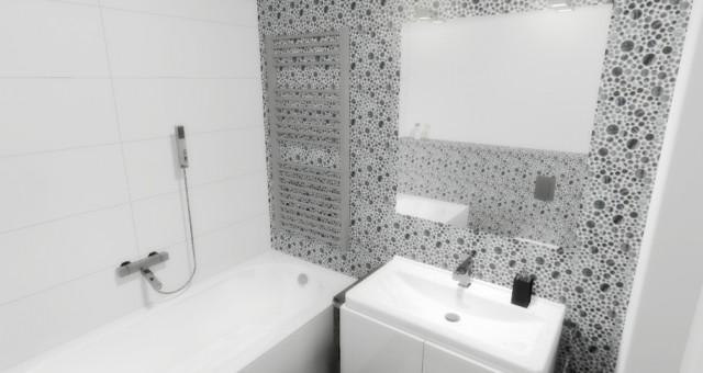 Návrh koupelny v RD, Lovčice