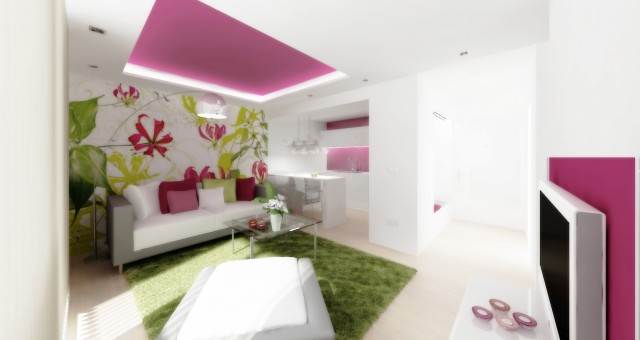 Návrh bytu 2+kk, Jihlava