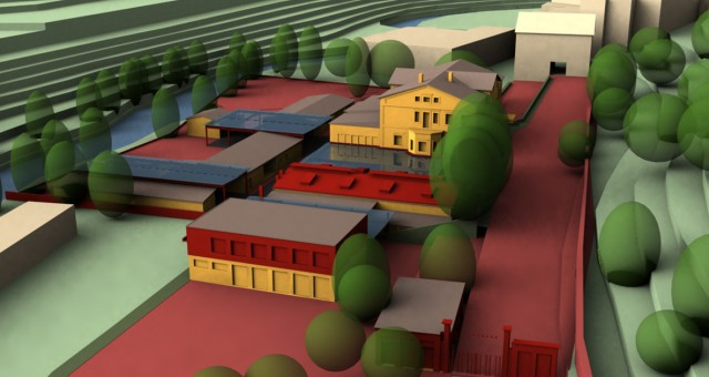 Adaptace průmyslového areálu Altenberg, Jihlava