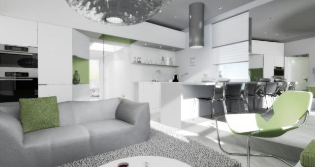Návrh interiéru malometrážního bytu, Jihlava
