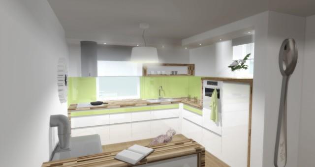 Návrh interiéru kuchyně, Ostrava