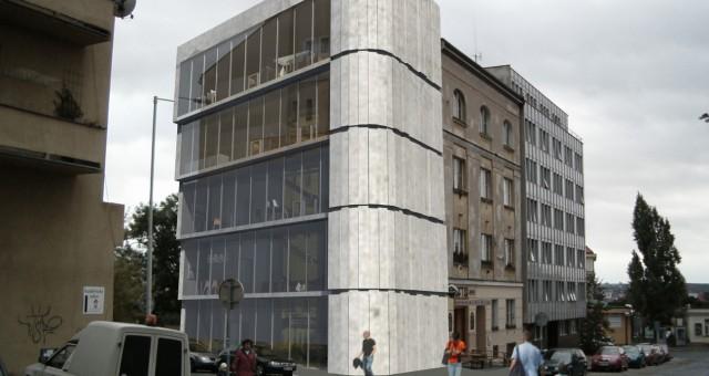 Návrh administrativní budovy, Ostrava