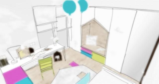 Studie dětského pokoje