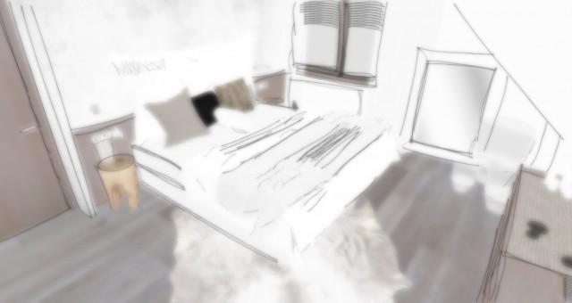Studie ložnice