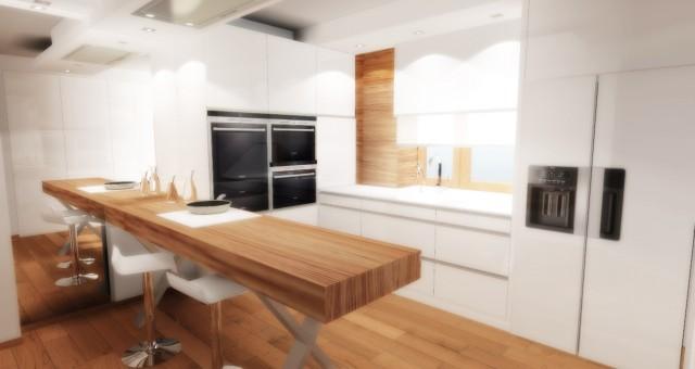 Návrh interiéru kuchyně, Jihlava