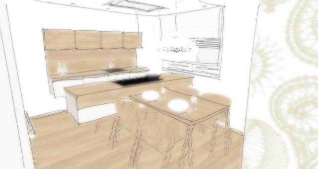 Studie kuchyně