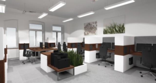Návrh kanceláře firmy ALDEM, Jihlava