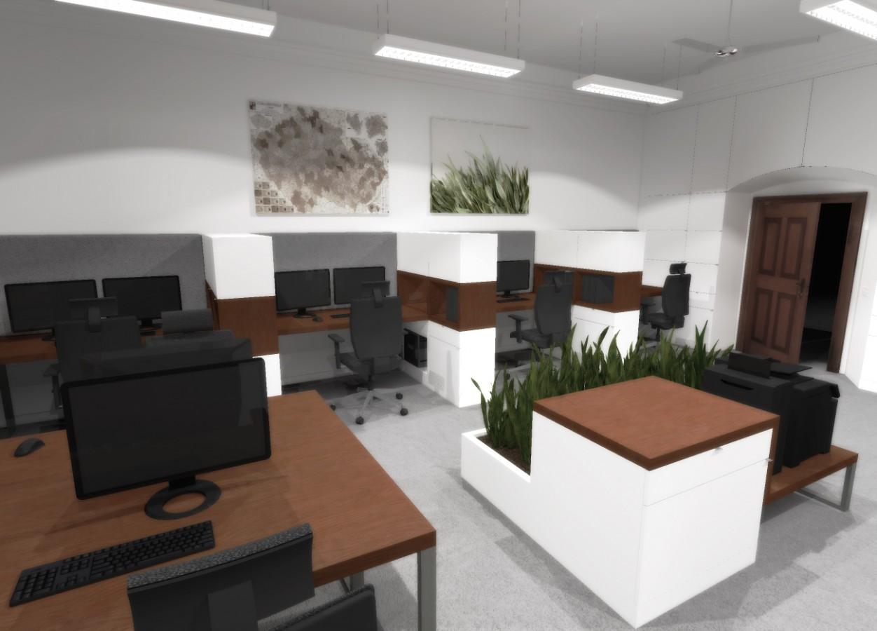 navrh navrhy navrhu navrzich navrhar navrharka architekt architektka interier interieru interierech interierem kancelar kancelare kancelari kancelarsky administrativni administativniho administrativa mistnost mistnosti mistnostmi mistnosti moderni moderniho design designovy designoveho designer designerka designersky designerskeho moderni moderniho modernich modern nadcasovy nadcasoveho nadcasovem svetly svetle svetleho prosvetleny prosvetleneho prosvetlenem svetlo prostor prostory prostoru prostorny prostorneho prostornemu vzdusny vzdusneho vzdusnemu akcent akcentem akcenty akcentuje akcentovat decentni decentniho decentnimu dekor dekoru dekorace dekoracni historicky historicke historickem objekt objektu dum domu dome firma firemni firmy pracovni pracovniho pracovnim pracovnimu studie koncept konceptu konceptech pracoviste pracovisti klenby klenbovy rekonstrukce rekonstruovat rekonstruovany prestavba prestavby prestavet prestaveni elegantni elegantniho elegance reditelna reditelny pracovna pracovny pracoven vizualizace atypicke atypicky atyp na miru bila bile bily bilou barva barvy barevny barev reseni dispozice dispozicni Praha Brno Ostrava Jihlava Londyn spolecensky spolecenska spolecna konferencni konference Brusel Mnichov Viden luxusni sofistikovany sofistikovane sofistikovaneho unikatni minimalisticky minimalistickeho minimalistickem minimalistickeho minimalismus styl stylu stylovy stylech inspirativni inspirativniho inspirace inspirativnim inspirativnimu detail detaily detailem detailech funkcni funkcnost funkce komercni komercnich komercnim komercniho verejny verejne verejneho verejnym kontrast kontrastní kontrasního kontrastu kontrastem kontrastovat puvodni puvodniho puvodnim puvodnich trend trendovy trendovych trendovem trendy originalni originalniho originalnim originalita original originalnimi office offices open space beckspace modernizovany modernizace modernizovaneho  profesionalni profesionalnim profesionalniho profesional spolecnost spolecnosti sidl