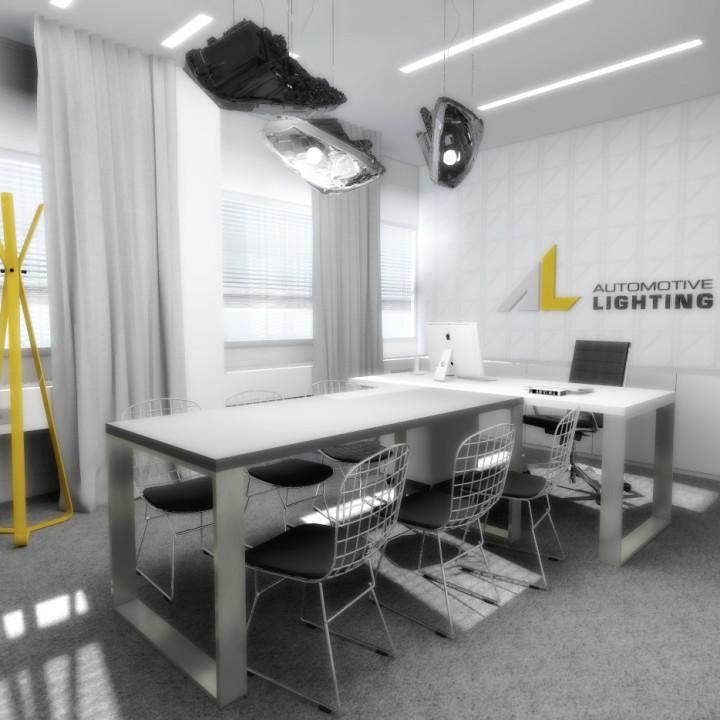 Návrh kancelářských prostor Automotive Lighting, Jihlava