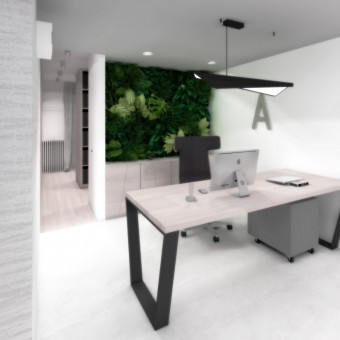Studie kancelářských prostor firmy, Tábor
