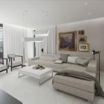navrh interieru obyvaciho pokoje