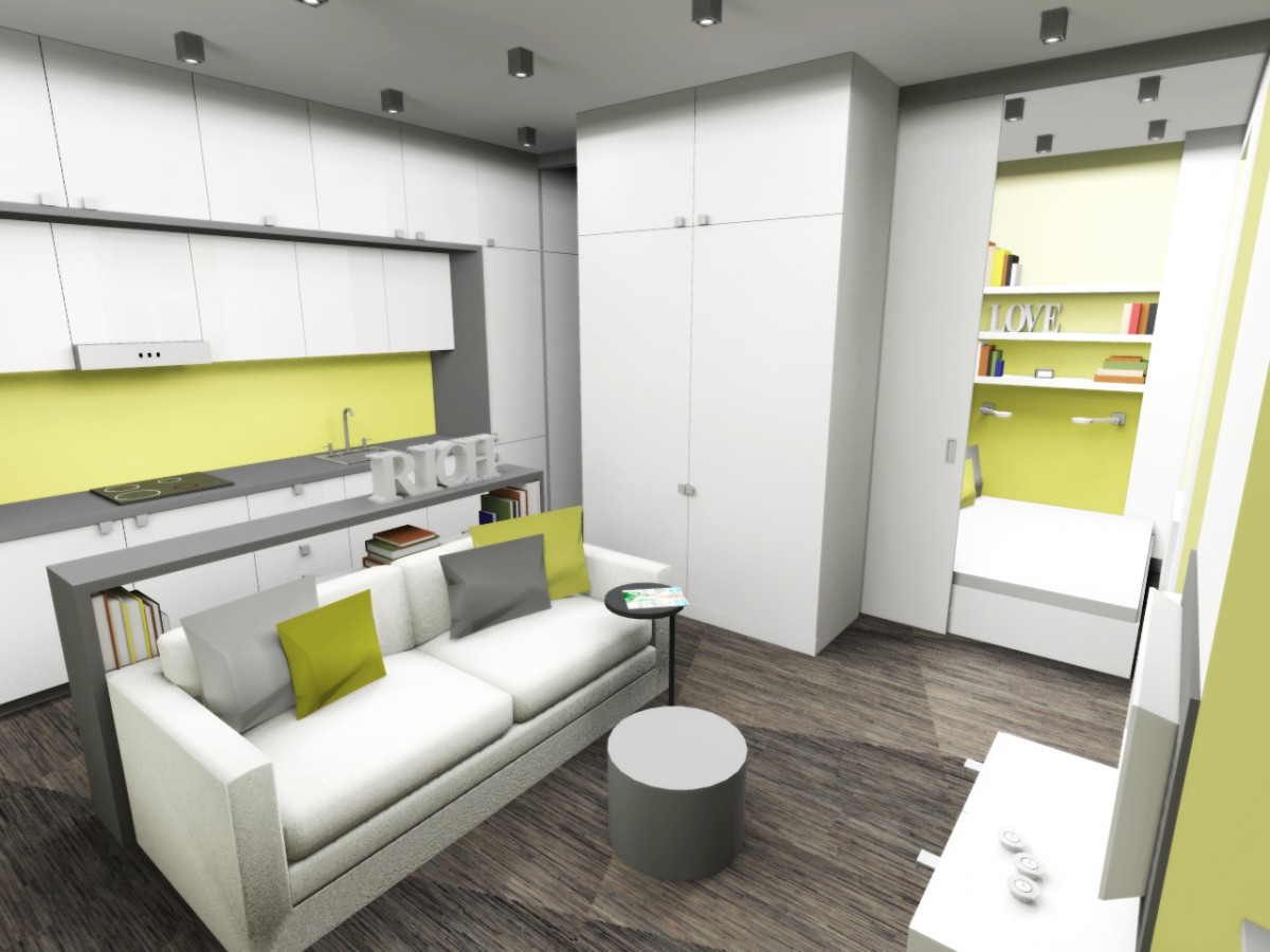 schrapnel.cz » » Návrh bytu o 36 m2, Jihlava